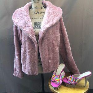 🔥Sale🔥Vintage Faux Fur Coat